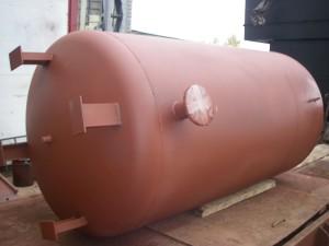 Буферная емкость ТА 2000 литров из углеродистой стали с грунтовкой